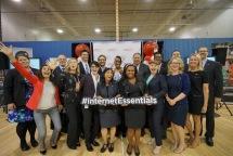 Members of Comcast's Internet Essentials team
